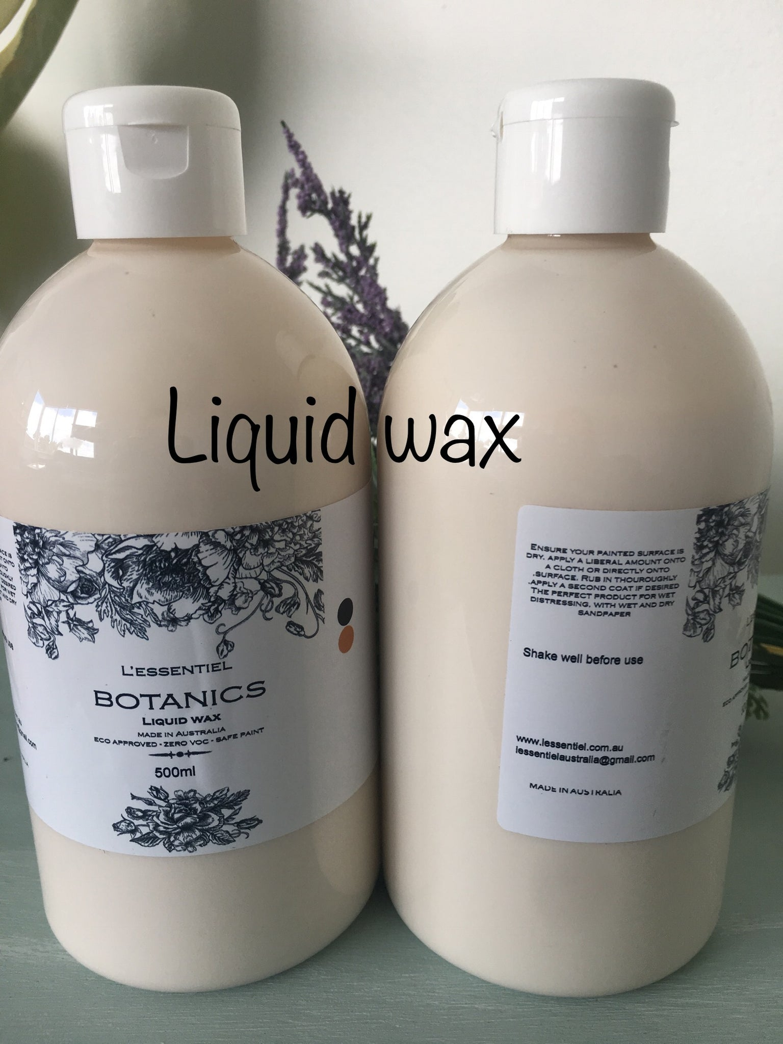 CLEAR LIQUID WAX 500ML