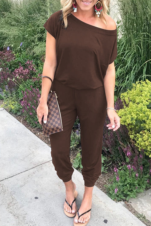 Dresslim Loose Off Shoulder Jumpsuit