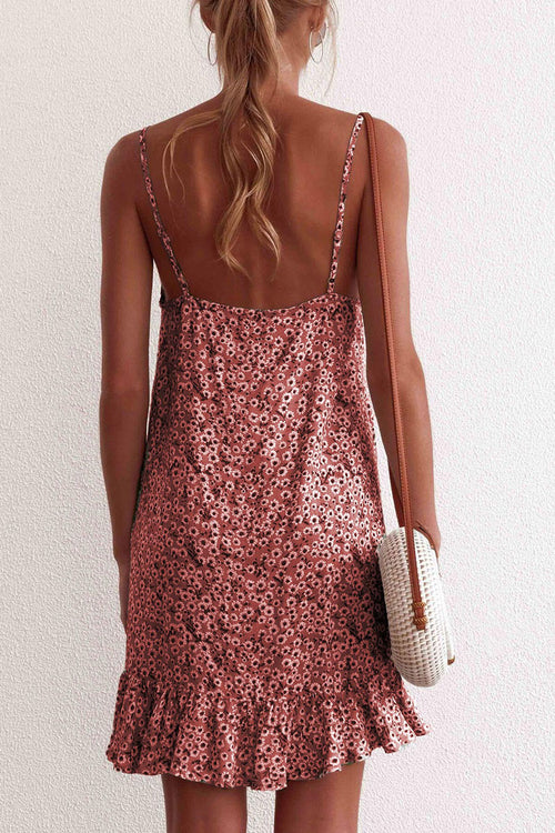 Dresslim Floral Printed Sleeveless Dress