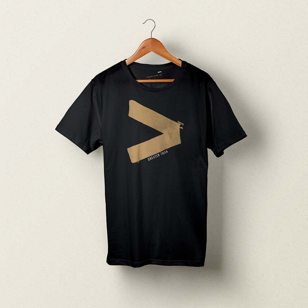 Greater Than Logo Tee
