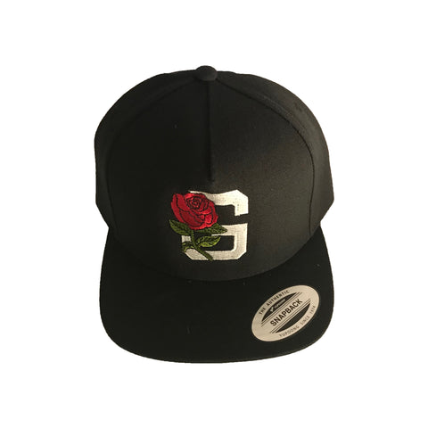 Skull Snap-back Hat