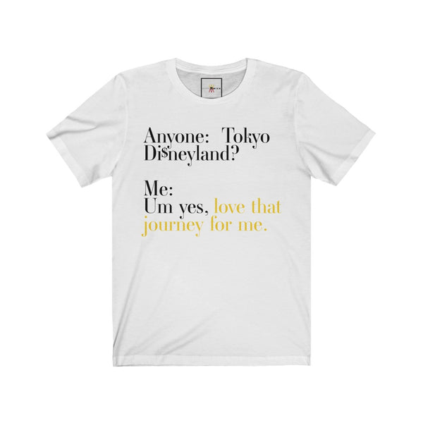 "| The USA Shop | ""Love That Journey For Me - Alexis Rose"" - Adult Crew Neck Tee - Tokyo Edition"