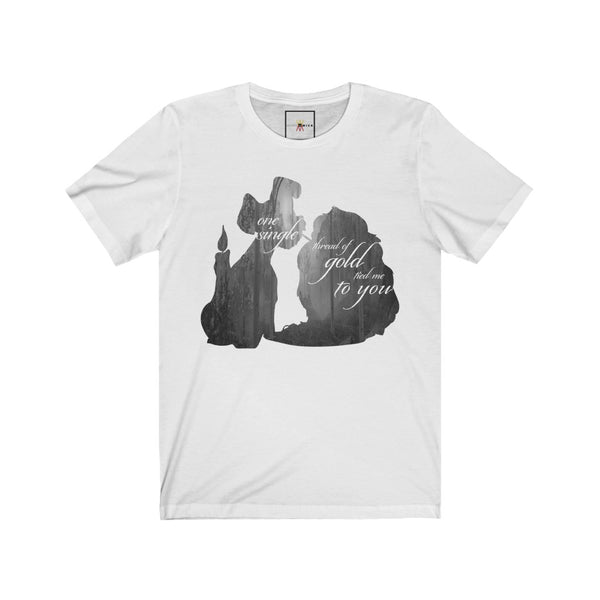 "| The USA Shop | ""Invisible String - Lady And The Tramp"" - Adult Crew Neck Tee"