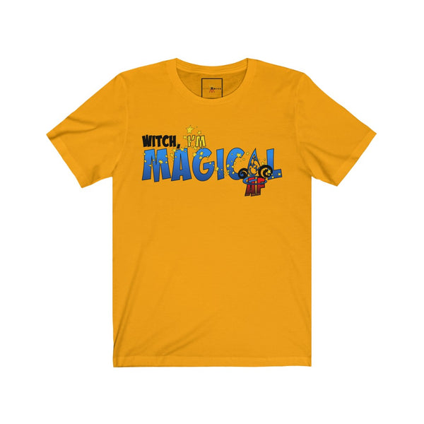 "| The USA Shop | ""Magical AF"" - Adult Crew Neck Tee"