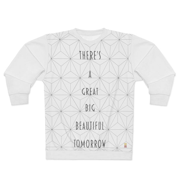 "| The USA Shop | ""There's A Great Big Beautiful Tomorrow"" - Adult Sweater"