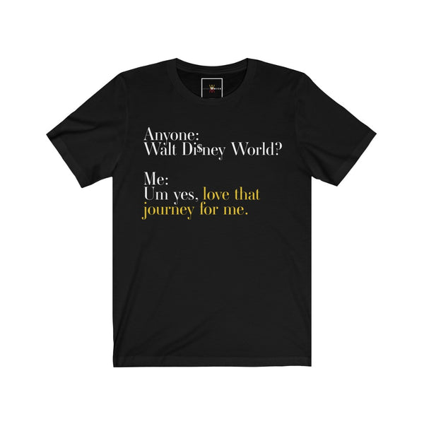 "| The USA Shop | ""Love That Journey For Me - Alexis Rose"" - Adult Crew Neck Tee - Florida Edition"