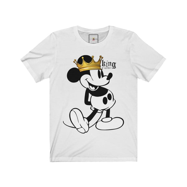 "| The USA Shop | ""King Of My Heart"" - Adult Crew Neck Tee"