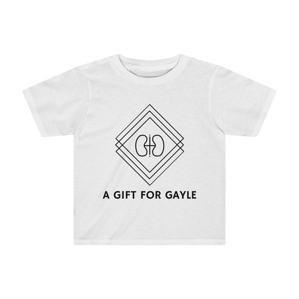 "| The USA Shop | ""A Gift For Gayle"" - Kid Crew Neck Tee"