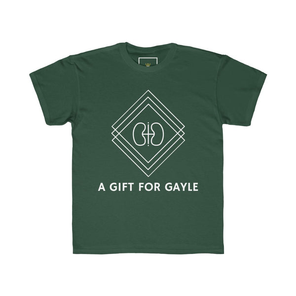 "| The USA Shop | ""A Gift For Gayle"" - Youth Crew Neck Tee"