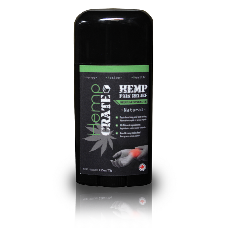 Regular Strength Pain Relief - Hemp Winnipeg
