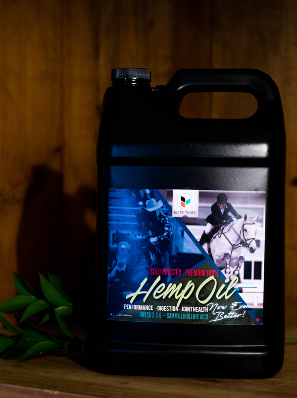 4 Litre Hemp Oil for Pets - Hemp Winnipeg