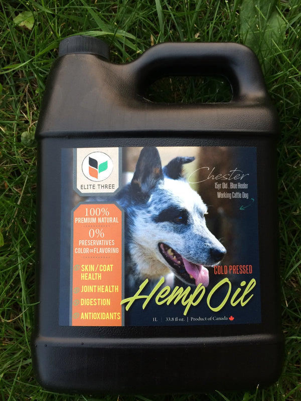 1 Litre Hemp Oil for Pets - Hemp Winnipeg