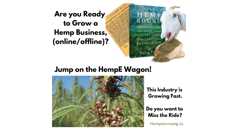 Hemp Enthusiast Business Opportunity - Hemp Winnipeg