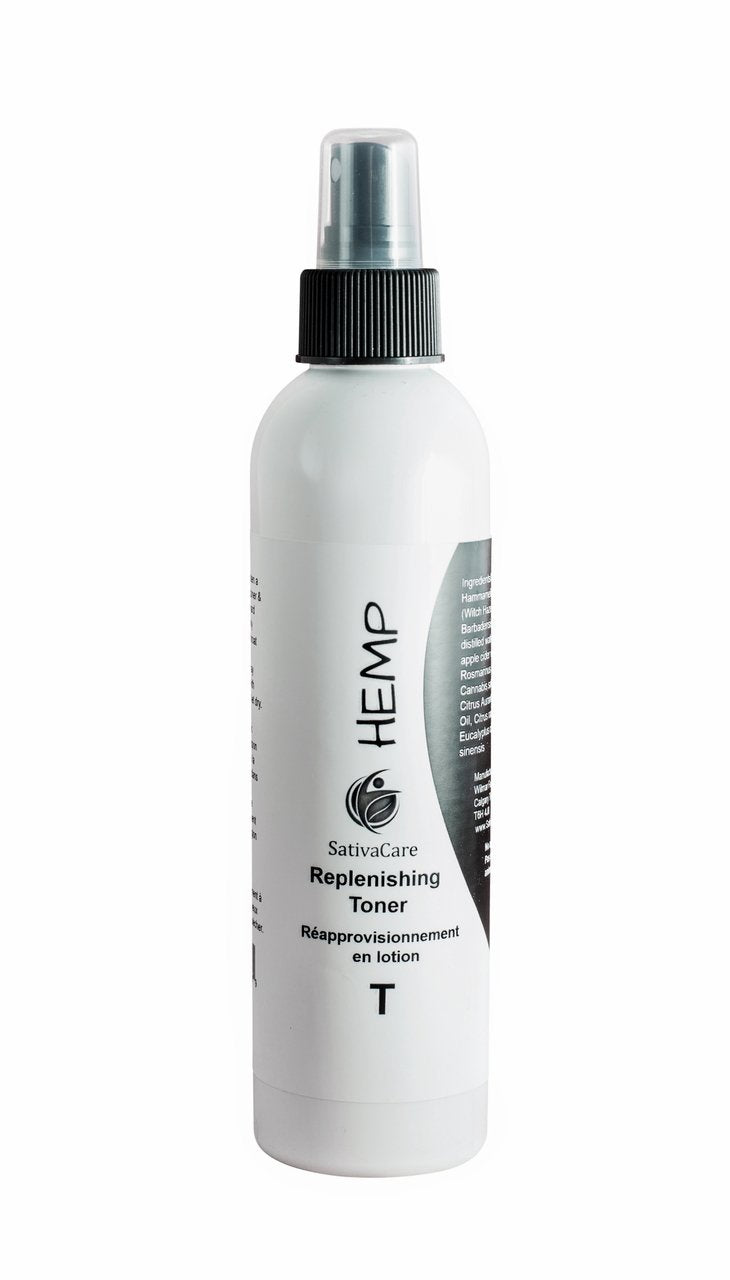 Replenishing Facial Toner - Hemp Winnipeg