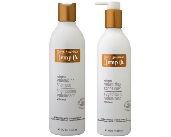 Volumizing Shampoo & Conditioner - Hemp Winnipeg