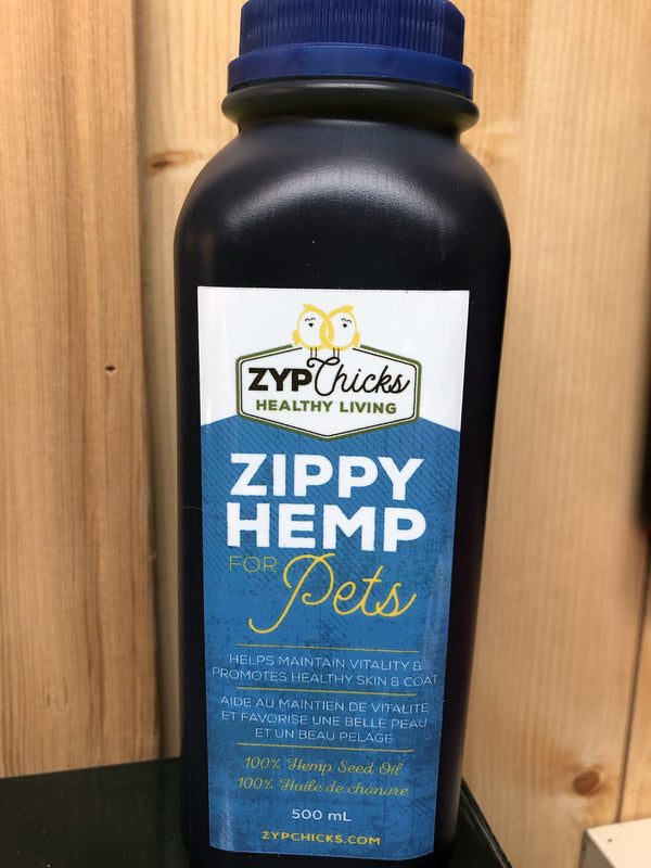 Hemp Oil Supplement for Pets - Hemp Winnipeg