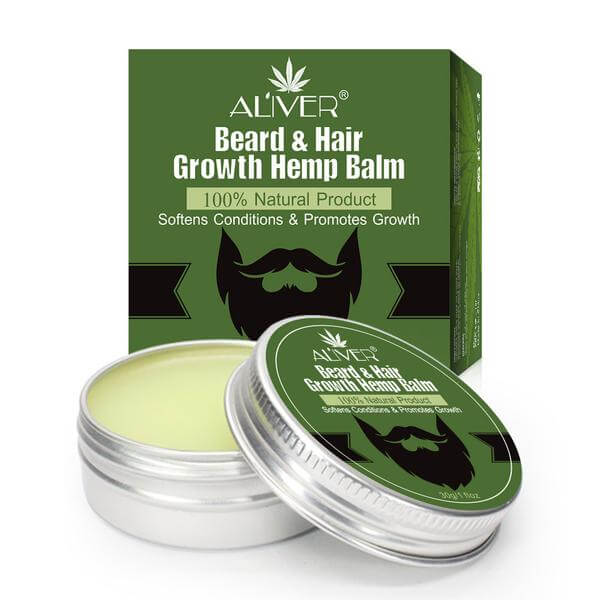 Men's Organic Beard Hemp Oil Balm