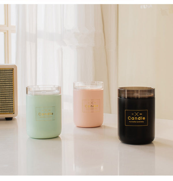 280ML Ultrasonic Candle Air Humidifier