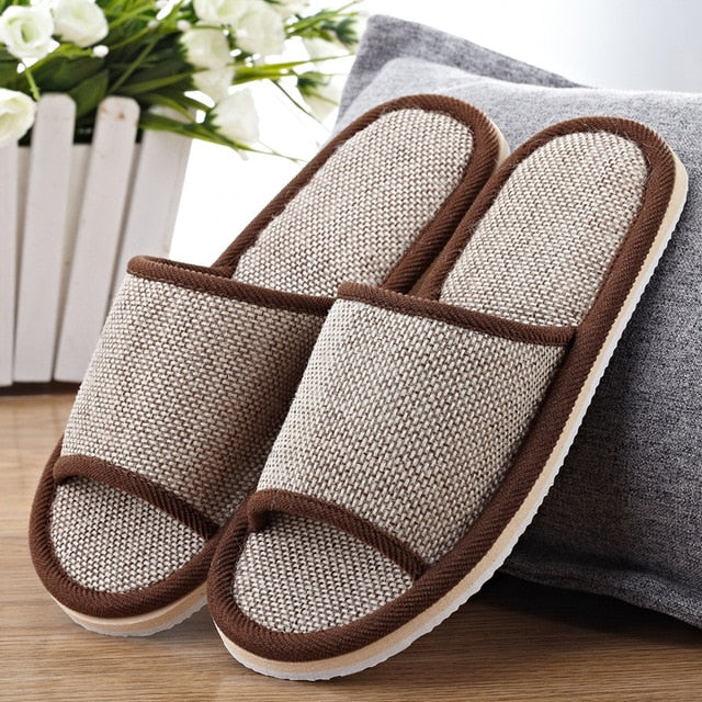 Natural Hemp Indoor Slippers - Hemp Winnipeg