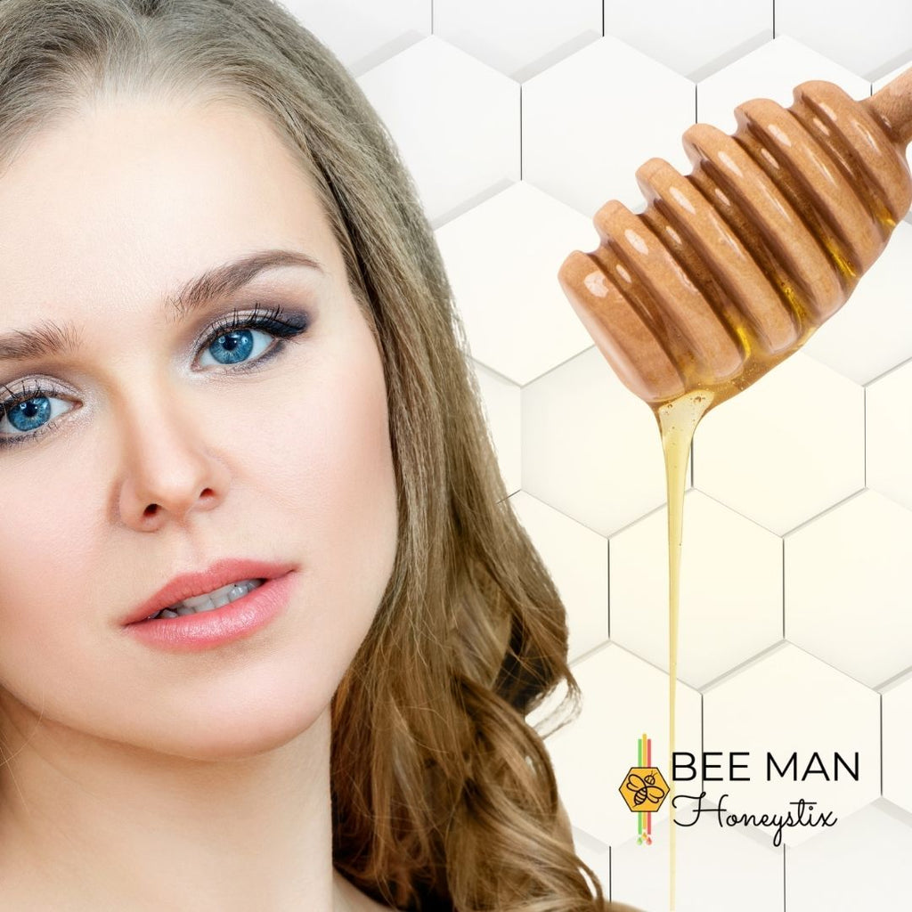 Use Your Bulk Honey Sticks to Make a DIY Face Mask