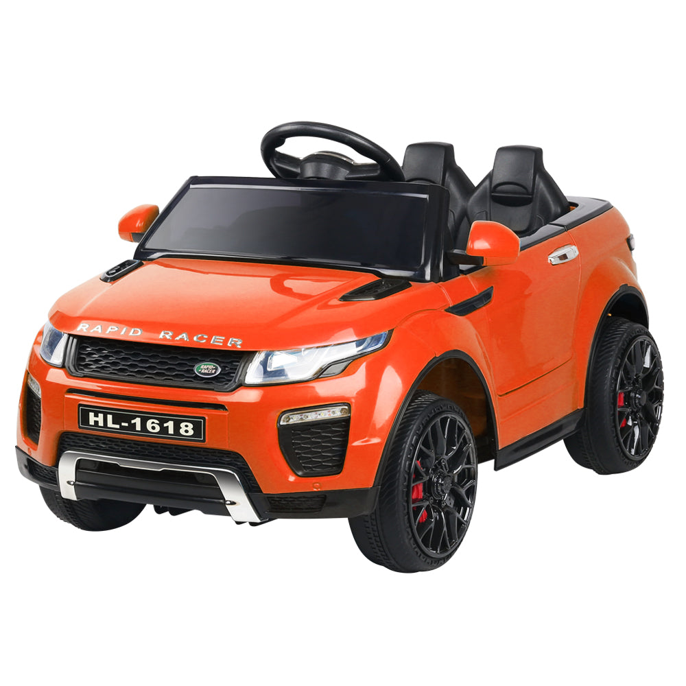 Rigo Kids Ride On Car Range Rover Inspired Electric 12V Toys Orange