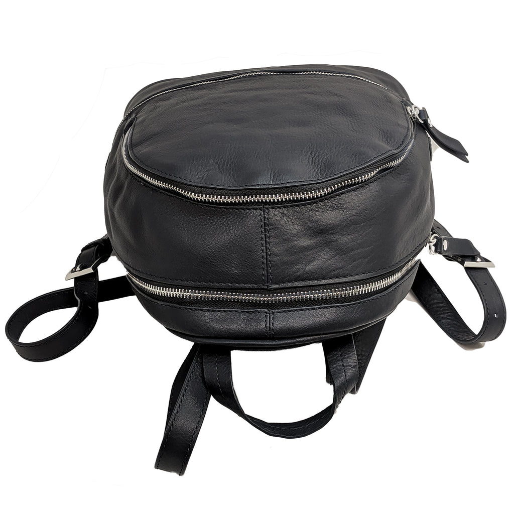 Anchor21 Genuine Leather Mini Backpack for Women Elegant Fashion Ladies Shoulder - New York Belt Corp