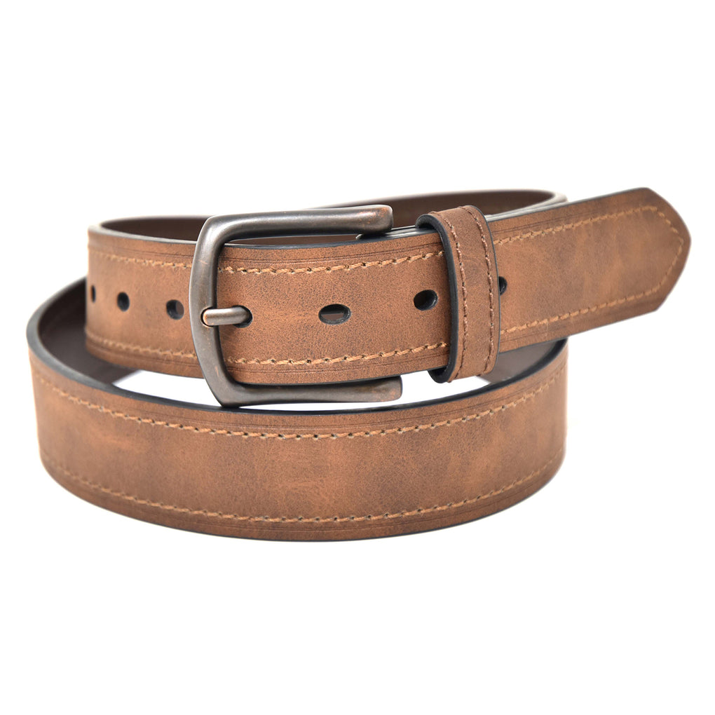 NYBC Colton Mens Belt Made in USA Casual Wear - New York Belt Corp