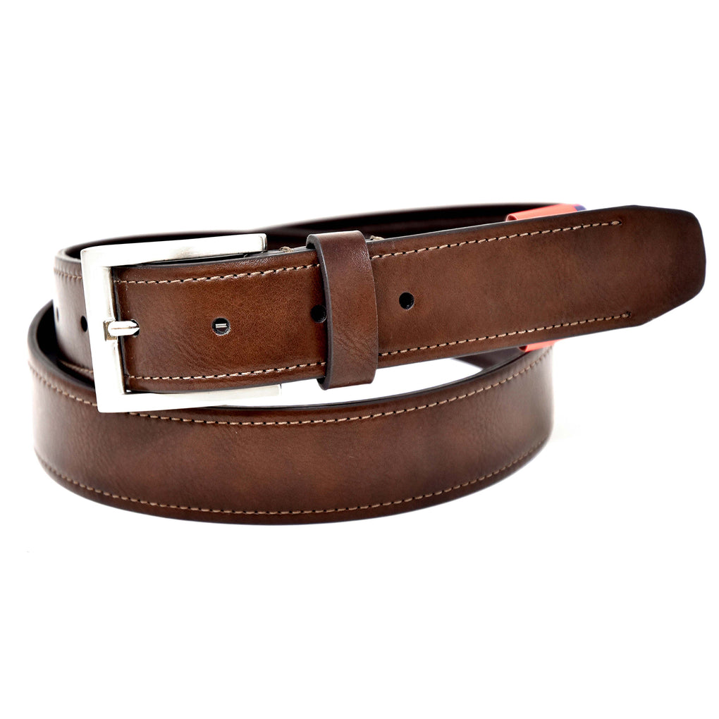 NYBC Erie Mens Belt Made in USA Fit Stretch Casual Wear - New York Belt Corp