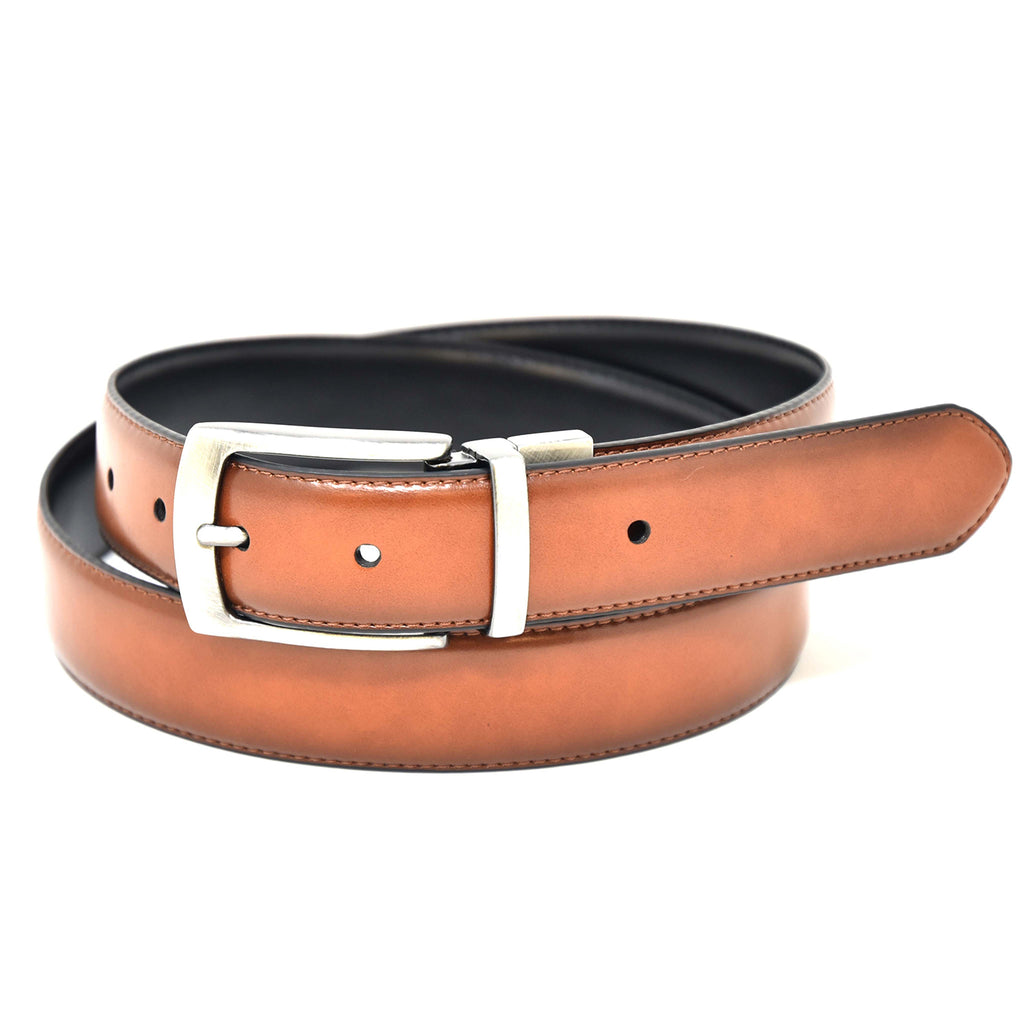 NYBC Hadley Reversible Mens Belt Made in USA Dress of Casual Wear - New York Belt Corp