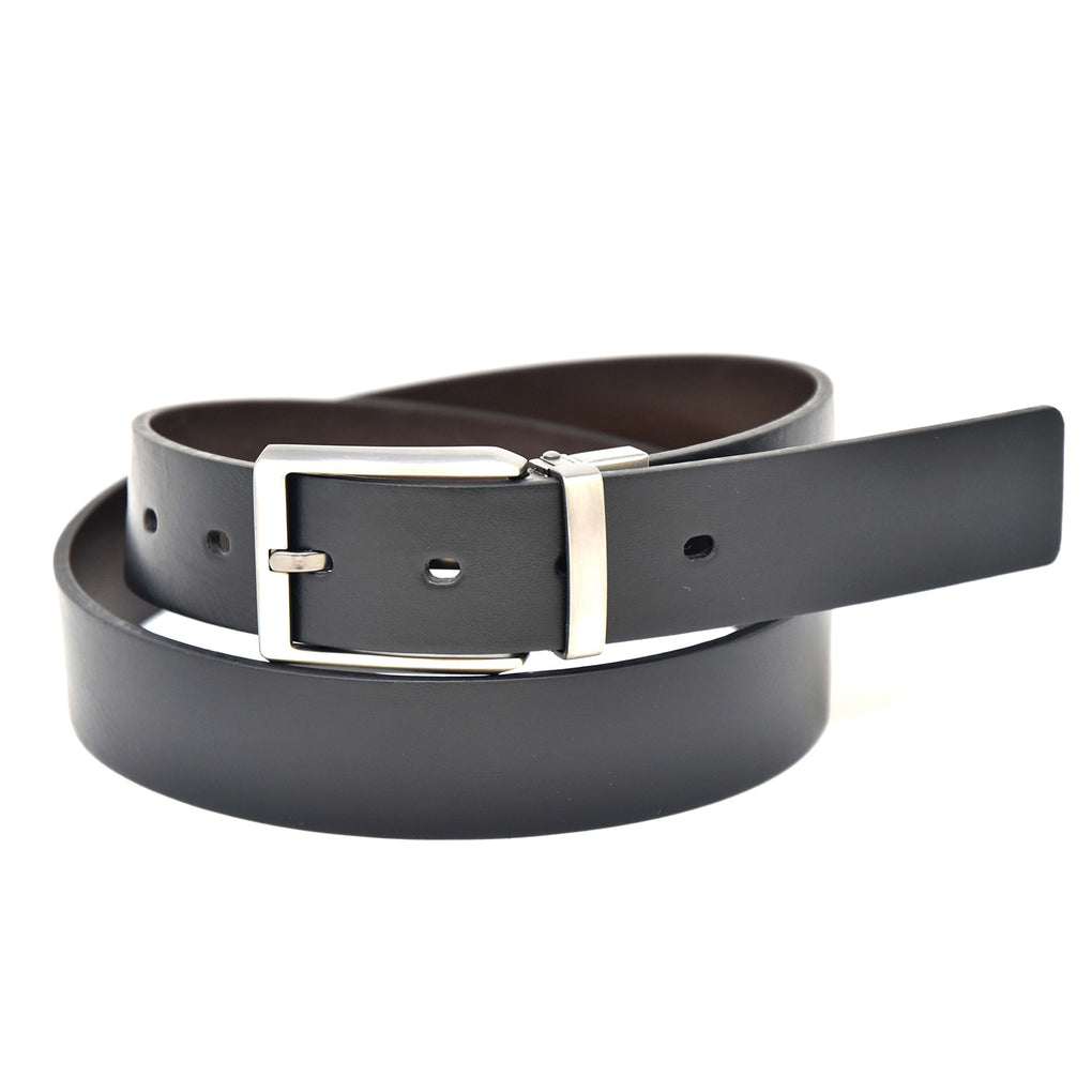 NYBC Preston Reversible Mens Belt Made in USA Casual Wear - New York Belt Corp