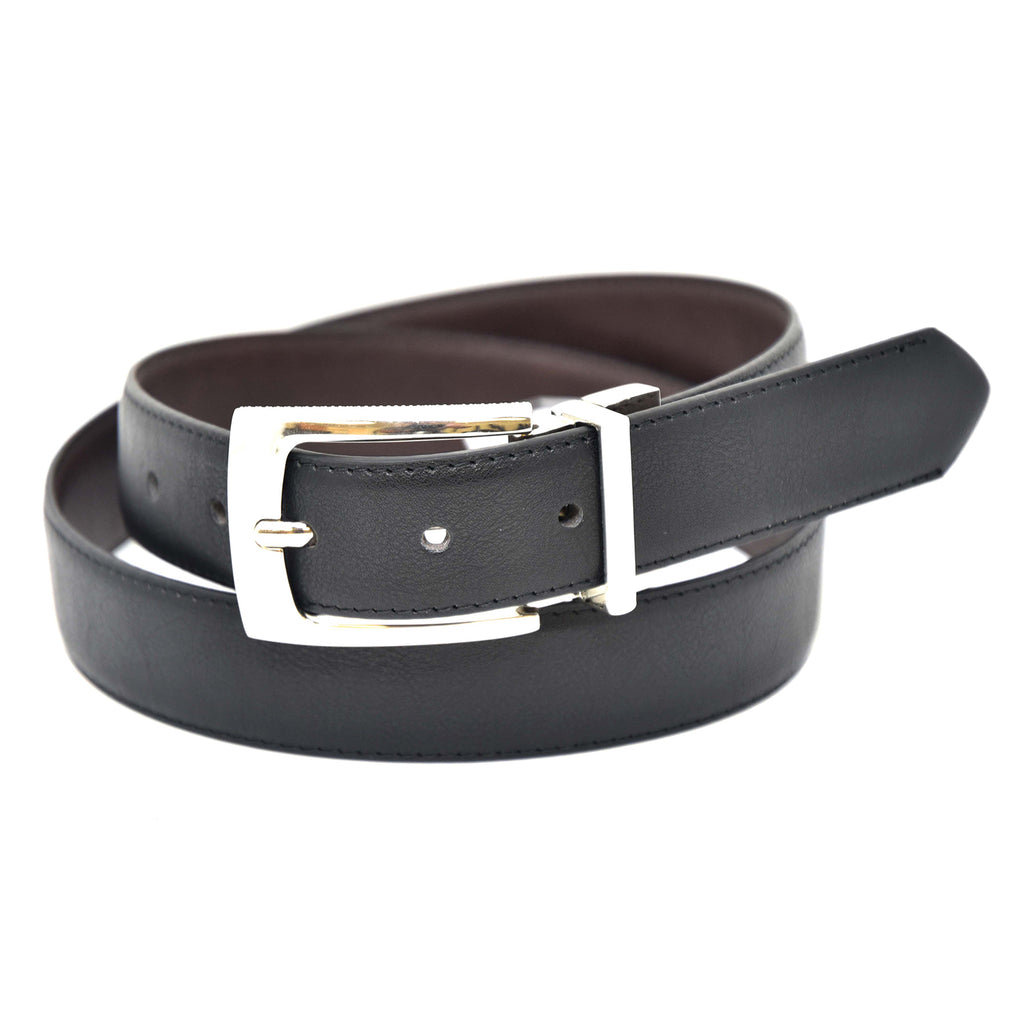 NYBC Remsen Reversible Mens Belt Made in USA Casual Wear - New York Belt Corp