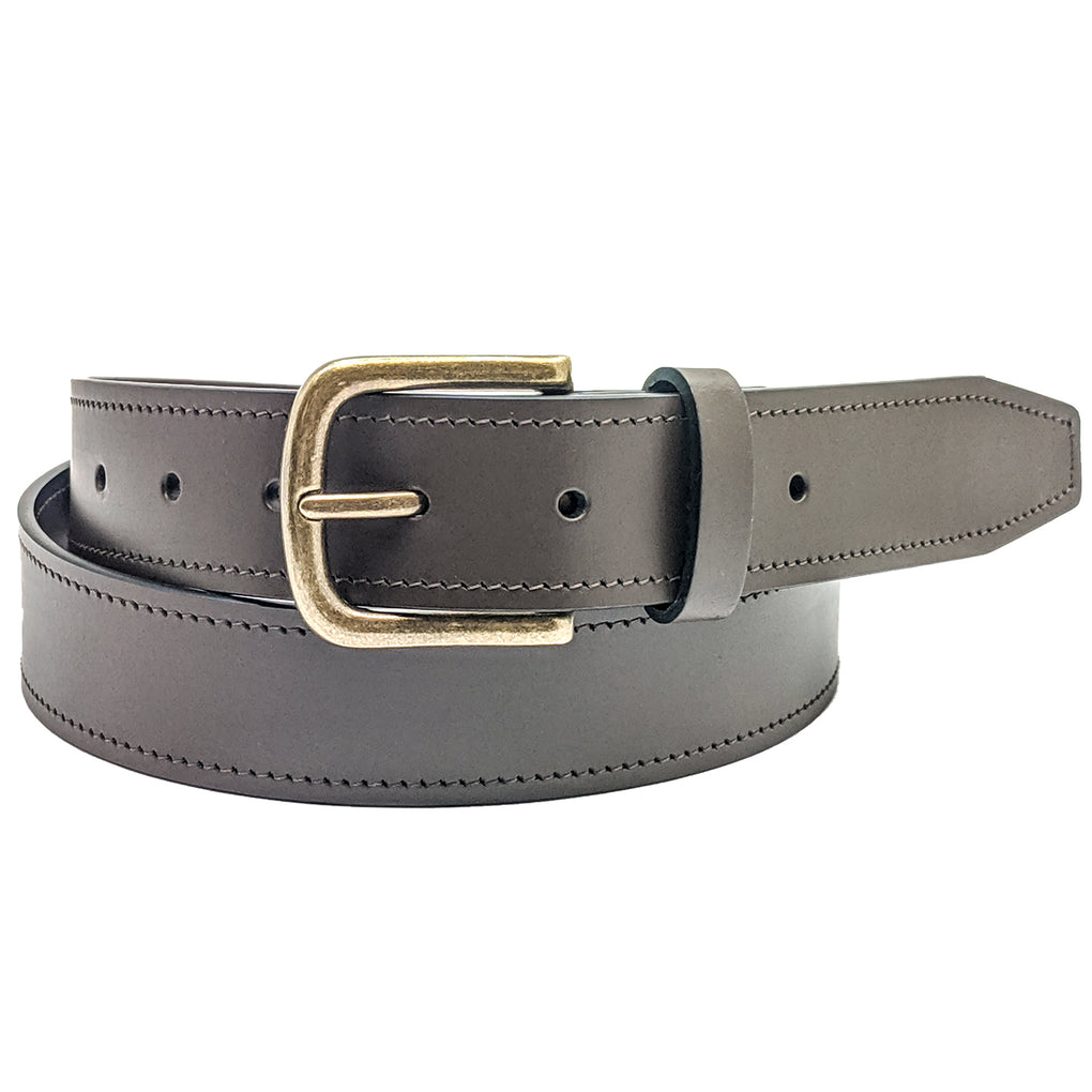 Winchester Olton Mens Belt Leather, 32mm width - New York Belt Corp