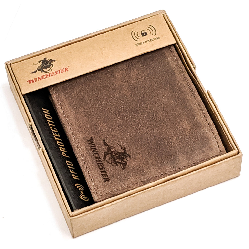 Winchester - Little Amarillo Brown Passcase, RFID Men's Wallet