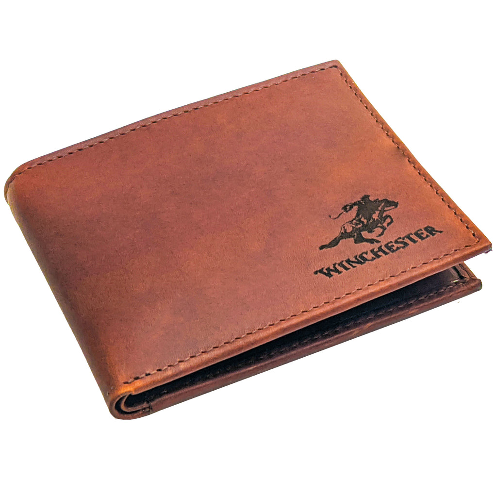 Winchester - Little Dallas Brown Passcase, RFID Men's Wallet