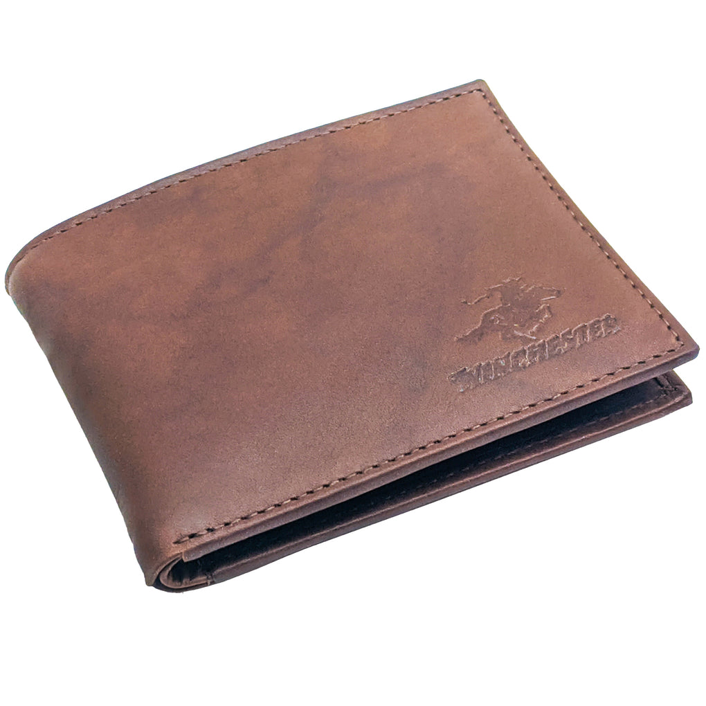 Winchester - San Antonio Brown Passcase, RFID Men's Wallet