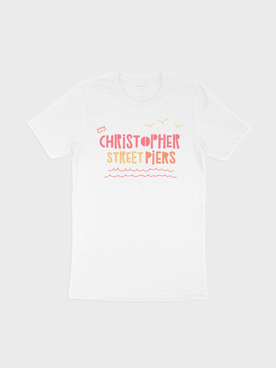 Christopher Street Piers Tee - Alt Pronouns, Inc.