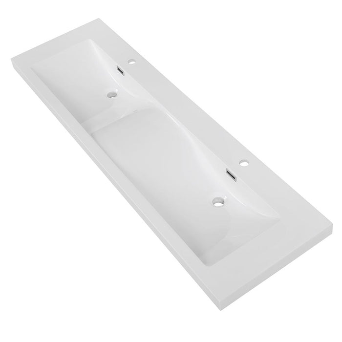 "63"" Solid Surface Resin Streamline K-098-SLSITRC-63 Vanity Top"