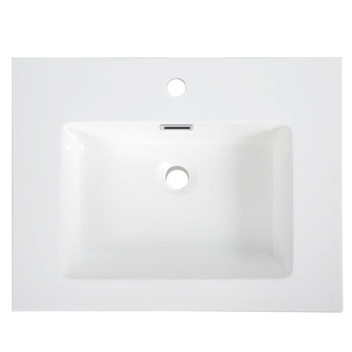 "24"" Solid Surface Resin Streamline K-161-SLSITRC-24 Vanity Top"