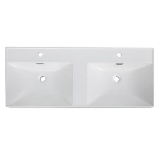 "48"" Solid Surface Resin Streamline K-170-SLSITRC-48 Vanity Top"