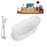 Tub, Faucet, and Tray Set Streamline 65'' Freestanding KH0907-100