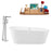 "Tub, Faucet and Tray Set Streamline 67"" Freestanding KH89-120"