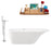 "Tub, Faucet and Tray Set Streamline 67"" Freestanding KH93-140"