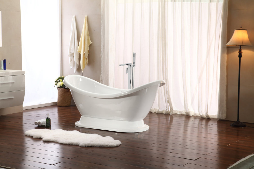 "Tub, Faucet and Tray Set Streamline 69"" Freestanding MH2380-140"