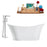 "Tub, Faucet and Tray Set Streamline 67"" Freestanding MH2460-120"