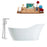 "Tub, Faucet and Tray Set Streamline 67"" Freestanding MH2480-120"