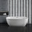 "71"" Streamline N-562-71FSWH-FM Soaking Freestanding Tub and Tray With Internal Drain"