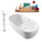 "Tub, Faucet and Tray Set Streamline 59"" Freestanding NH140-140"