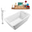 "Tub, Faucet and Tray Set Streamline 60"" Freestanding NH240-140"