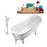"Tub, Faucet and Tray Set Streamline 59"" Clawfoot NH341CH-CH-100"