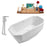 "Tub, Faucet and Tray Set Streamline 63"" Freestanding NH620-120"